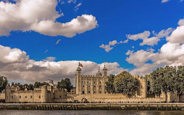 世界遺産「ロンドン塔(イギリス)」のホワイトタワー