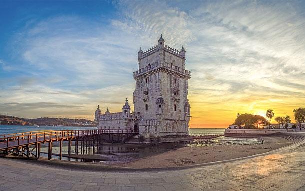 ポルトガルの世界遺産「リスボンのジェロニモス修道院とベレンの塔」、「テージョ川の貴婦人」ベレンの塔