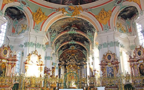 スイスの世界遺産「ザンクト・ガレン修道院」