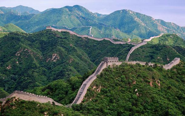 世界遺産「万里の長城(中国)」、八達嶺