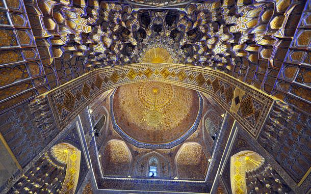 世界遺産「サマルカンド-文化交差路(ウズベキスタン)」、グリ・アミール廟