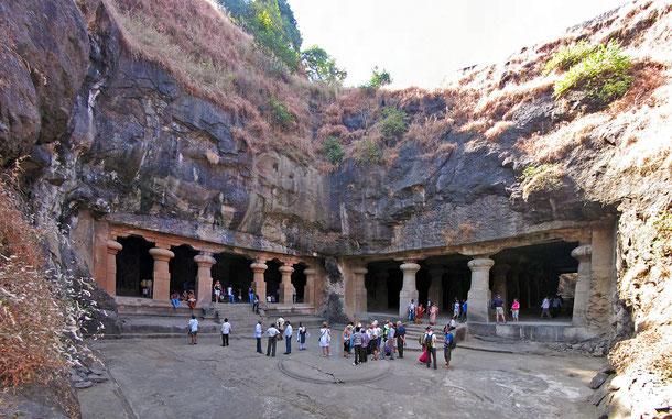 インドの世界遺産「エレファンタ石窟群」