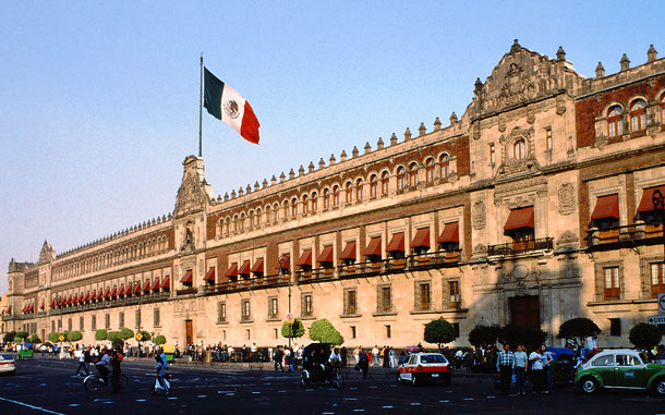世界遺産「メキシコシティ歴史地区とソチミルコ(メキシコ)」、国立宮殿