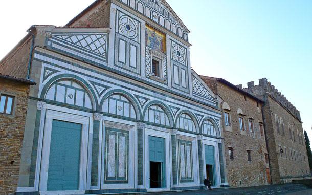 世界遺産「フィレンツェ歴史地区(イタリア)」、サン・ミニアート・アル・モンテ聖堂