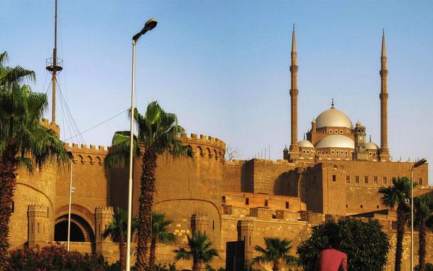 世界遺産「カイロ歴史地区(エジプト)」、カイロ・シタデルのムハンマド・アリー・モスク