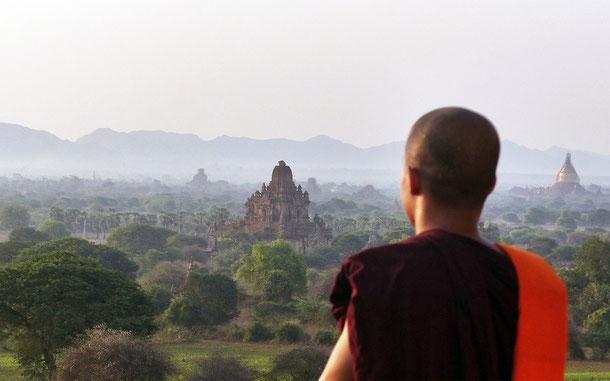 ミャンマーの世界遺産暫定リスト記載の古都バガン