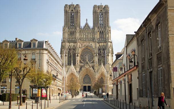 世界遺産「ランスのノートル・ダム大聖堂、サン・レミ旧大修道院及びトー宮殿(フランス)」、ランスのノートル・ダム大聖堂