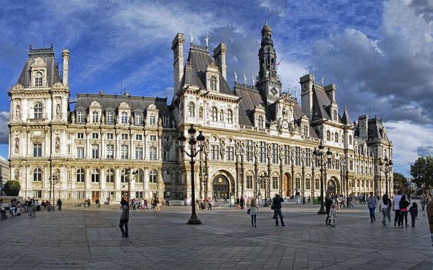 フランスの世界遺産「パリのセーヌ河岸」、パリ市庁舎