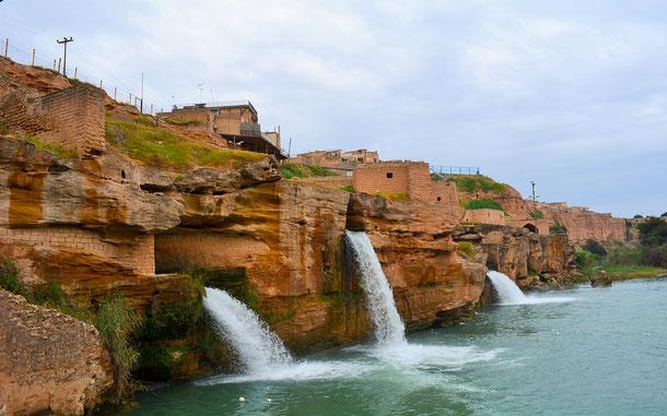 世界遺産「シューシュタルの歴史的水利施設(イラン)」