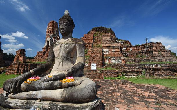 世界遺産「古都アユタヤ(タイ)」、ワット・プラ・マハタート