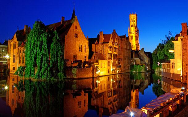 世界遺産「ブルージュ歴史地区(ベルギー)」