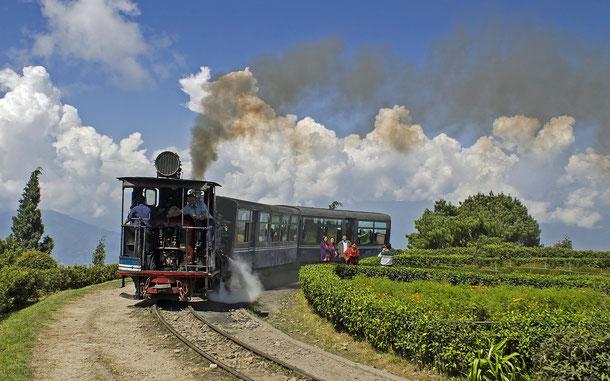 世界遺産「インドの山岳鉄道群(インド)」、ダージリン=ヒマラヤ鉄道