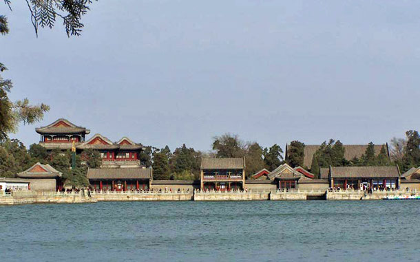 世界遺産「頤和園:北京の皇帝の庭園(中国)」、玉瀾堂
