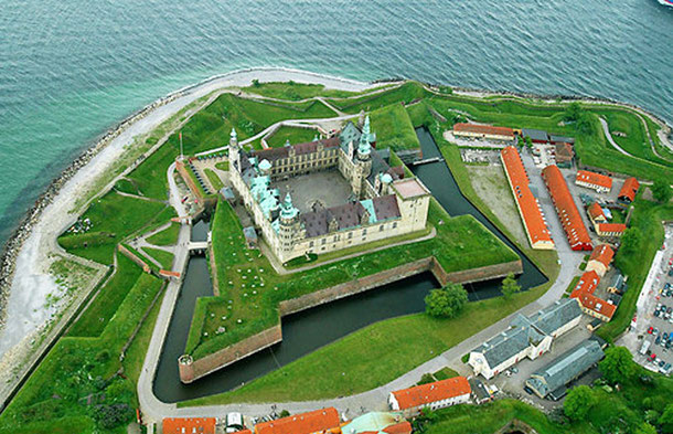 世界遺産「クロンボー城(デンマーク)」