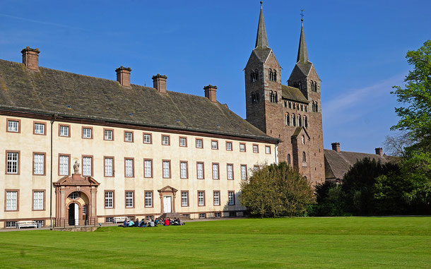 世界遺産「コルヴァイのカロリング期ヴェストヴェルクとキウィタス(ドイツ)」、コルヴァイ修道院