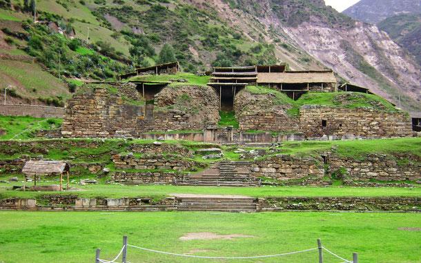 世界遺産「チャビン[古代遺跡](ペルー)」、チャビン・デ・ワンタル