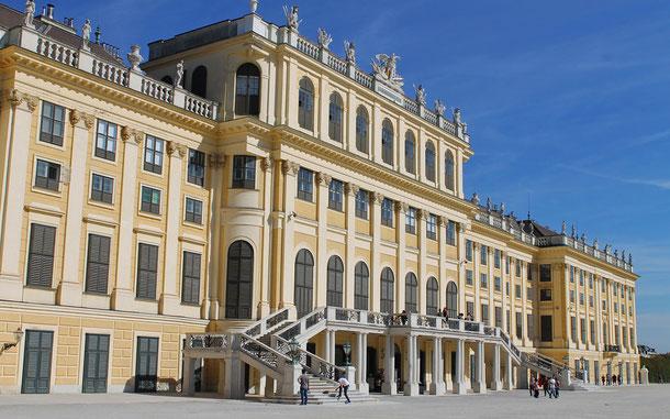 世界遺産「シェーンブルン宮殿と庭園群(オーストリア)」構成資産