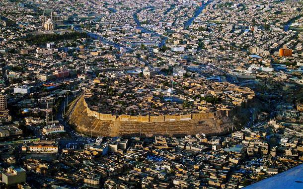 イラクの世界遺産「アルビル城塞」