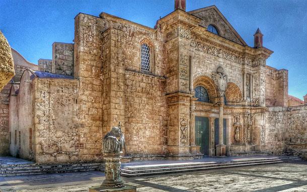世界遺産「サント・ドミンゴ植民都市(ドミニカ共和国)」のサンタ・マリア・ラ・メノル大聖堂