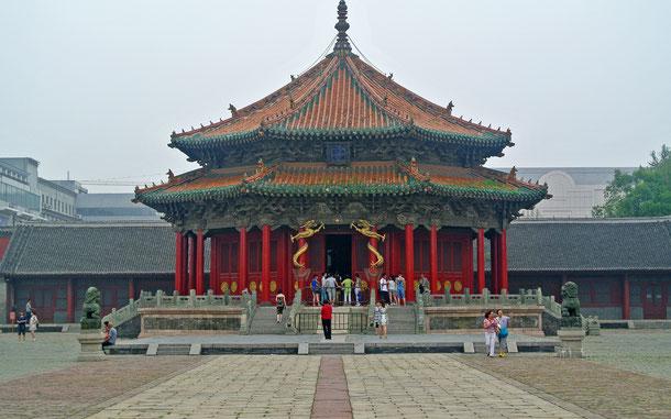 世界遺産「北京と瀋陽の明・清朝の皇宮群(中国)」、瀋陽故宮の大政殿
