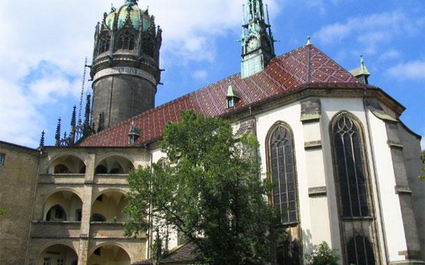 世界遺産「アイスレーベンとヴィッテンベルクにあるルターの記念建造物群(ドイツ)」、ヴィッテンベルク城付属聖堂