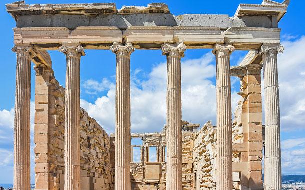 世界遺産「アテネのアクロポリス(ギリシア)」、エレクテイオン