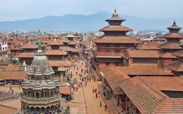 世界遺産「カトマンズの谷(ネパール)」、カトマンズのダルバール広場