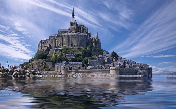 世界遺産「モンサンミッシェルとその湾(フランス)」
