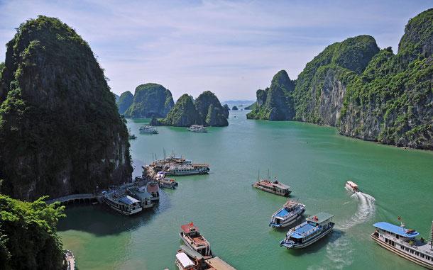 世界遺産「ハロン湾(ベトナム)」
