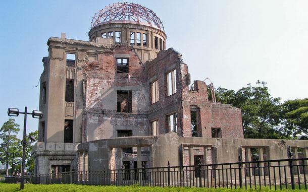 日本の世界遺産「広島平和記念碑[原爆ドーム]」