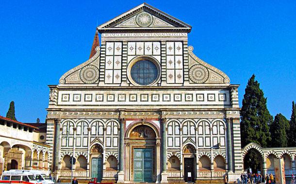 サンタ・マリア・ノヴェッラ聖堂のファサード