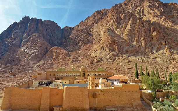 世界遺産「聖カタリナ修道院地域(エジプト)」