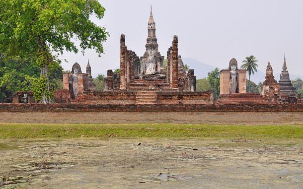 世界遺産「古代都市スコータイと周辺の古代都市群(タイ)」、ワット・マハタート