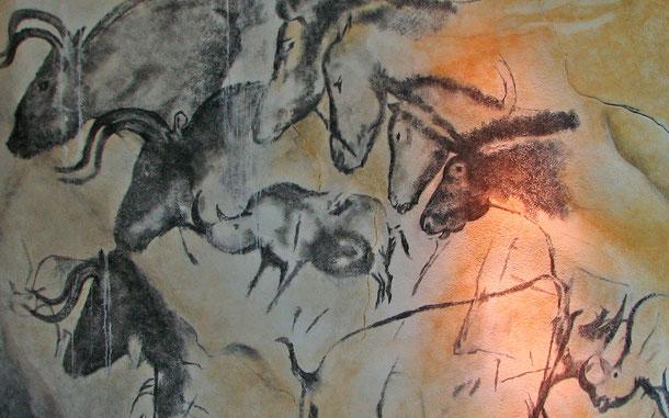 世界遺産「アルデッシュ、ショーヴェ・ポンダルク洞窟壁画(フランス)」のショーヴェ洞窟