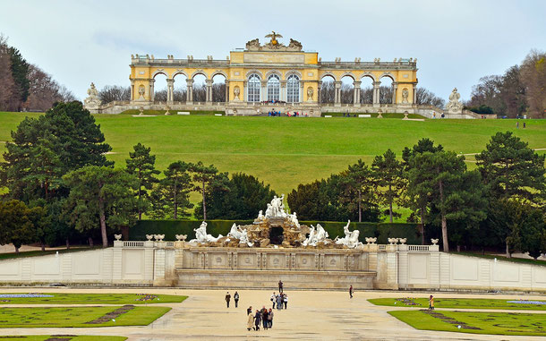 世界遺産「シェーンブルン宮殿と庭園群(オーストリア)」、シェーンブルン庭園、グロリエッテ