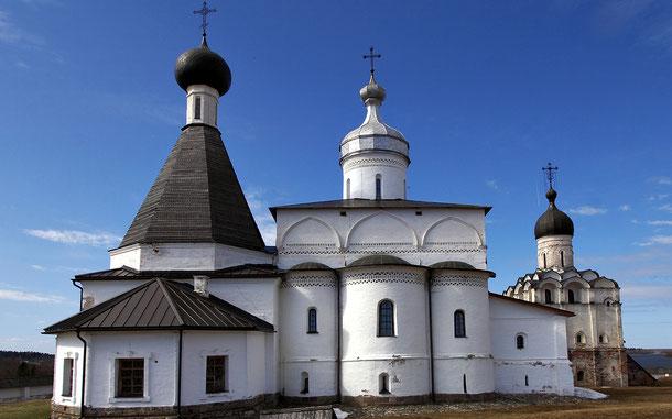 世界遺産「フェラポントフ修道院群(ロシア)」