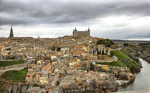 スペインの世界遺産「古都トレド」の街並み