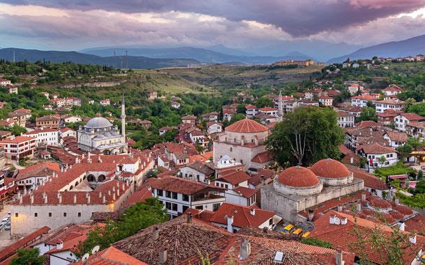 トルコの世界遺産「サフランボル市街」のチュクル地区