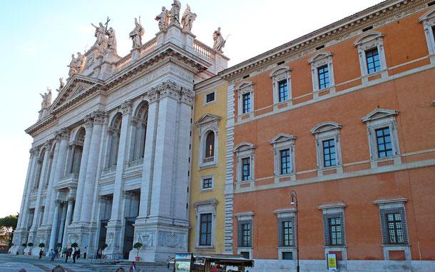 世界遺産「ローマ歴史地区、教皇領とサン・パオロ・フォーリ・レ・ムーラ大聖堂(イタリア/バチカン共通)」、サン・ジョヴァンニ・イン・ラテラノ大聖堂