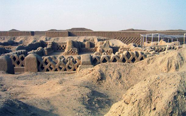 ペルーの世界遺産「チャンチャン遺跡地帯」