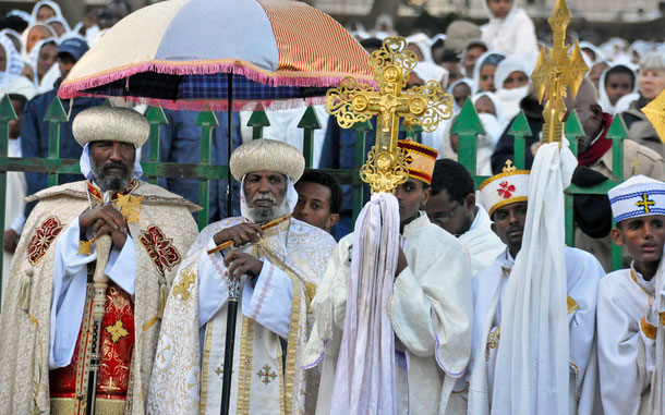 エチオピアの無形文化遺産「エチオピアの顕現祭」、ティムカット