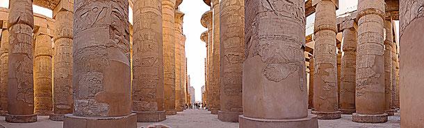世界遺産「古代都市テーベとその墓地遺跡(エジプト)」、カルナック神殿のアメン大神殿
