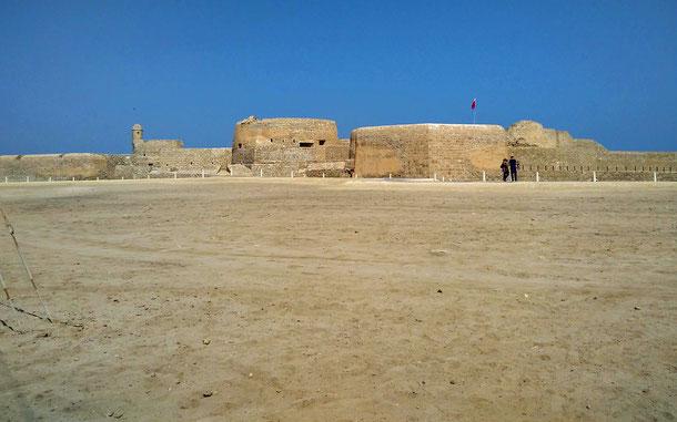 世界遺産「カラット・アル-バーレーン-古代の港とディルムンの首都(バーレーン)」の要塞跡