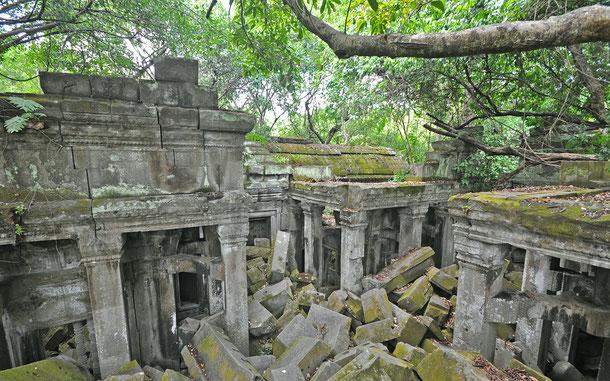 世界遺産登録を目指しているベン・メリア遺跡