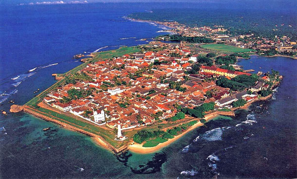 世界遺産「ゴール旧市街とその要塞群(スリランカ)」