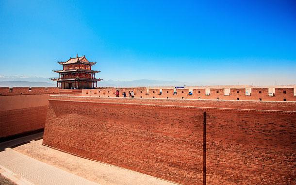 中国の世界遺産「万里の長城」、嘉峪関