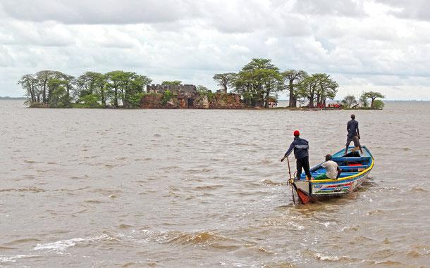 世界遺産「クンタ・キンテ島と関連遺跡群(ガンビア)」、要塞島クンタ・キンテ