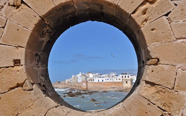 モロッコの世界遺産「エッサウィラのメディナ[旧名モガドール]」