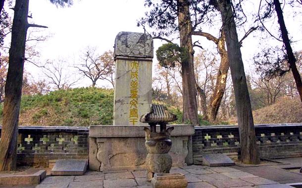 世界遺産「曲阜の孔廟、孔林、孔府(中国)」、孔林の孔子墓