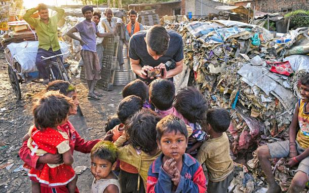 インドのスラム
